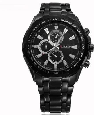 Curren 8023-Black Analog Watch  - For Men at flipkart
