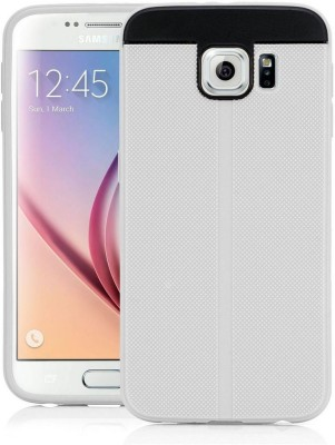 Deer Back Cover for Samsung Galaxy S6 duos(White, Shock Proof, Rubber, Plastic)
