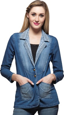 Clo Clu Women's Single Breasted Coat