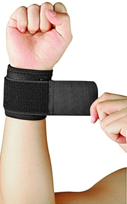 Nivia WRIST SUPPORT Fitness Grip(Black)  available at flipkart for Rs.210