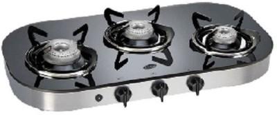 Glen Glen GL-1036-GT-Ai Glass Cooktop Glass Automatic Gas Stove(3 Burners) at flipkart