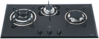 Glen Glen GL-1073-TR Glass Built in Hob Glass Automatic Gas Stove(3 Burners) at flipkart