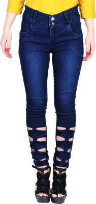 Western World Slim Women Blue Jeans at flipkart