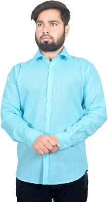 agarwal enterprises Men & Women Solid Formal Blue Shirt