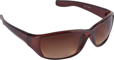Aligatorr Sports Sunglasses(Brown)