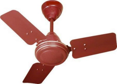 Orient new air 24 inches 3 Blade Ceiling Fan(brown, Pack of 3) at flipkart