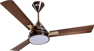 Orient Electric ORINA 48 INCHES 1200 mm 3 Blade Ceiling Fan(Peppy Red, Pack of 1)