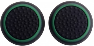 Hytech Plus High Quality Dual Color Thumb Grip  Gaming Accessory Kit(Black, Green, For PS4, Xbox One, PS3)  available at flipkart for Rs.199