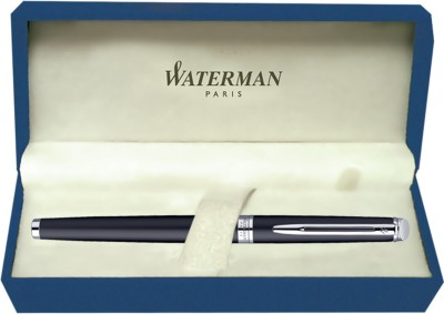Waterman Hemisphere Matt Black CT (Medium Nib) Fountain Pen