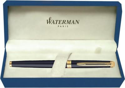 Waterman Hemisphere Matt Black GT (Medium Nib) Fountain Pen