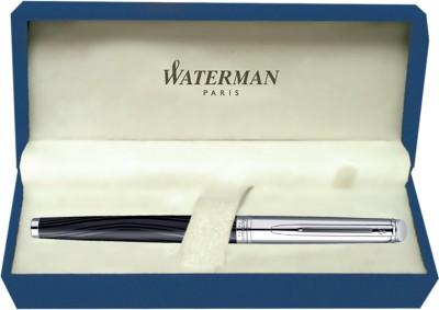 Waterman Hemisphere Dlx Silk Blk CT Fountain Pen