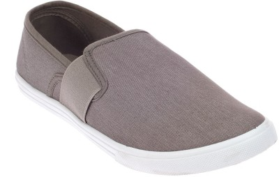 Khadim's Pro Canvas Shoes For Men(Grey)  available at flipkart for Rs.499