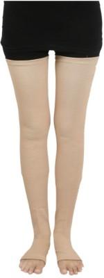 64cdcc4438 FLAMINGO premium vericose vein stocking Knee, Calf & Thigh Support (S,  Beige)