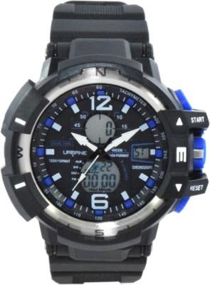 Maxima U-35021PPAN  Analog-Digital Watch For Unisex