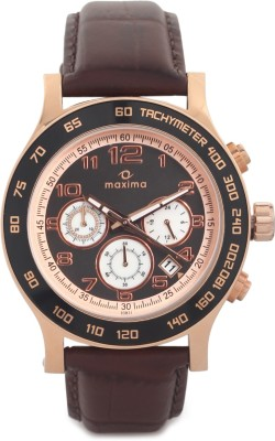 Maxima 32971LMGR Attivo Analog Watch For Men