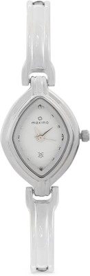 Maxima 10185BMLI Analog White Dial Women's Watch (10185BMLI)