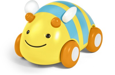 Skip Hop Explore and More Pull-and-Go Toy Car, Bee(Yellow)