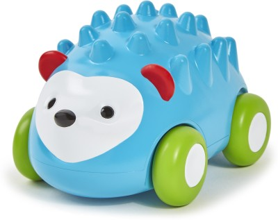 Skip Hop Explore and More Pull-and-Go Toy Car, Hedgehog(Multicolor)