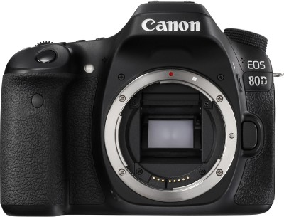 Canon EOS 80D DSLR Camera Body with 18-55 IS STM(Black)