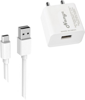 NAMYA FAST CHARGER   SYNC/ data cable for LE__ECO LE S 3 5 W 1 A Mobile Charger with Detachable Cable White NAMYA Wall Chargers