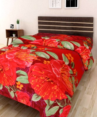 IWS 144 TC Microfiber Single 3D Printed bedsheet(1 bedsheet, Multicolor)  available at flipkart for Rs.149
