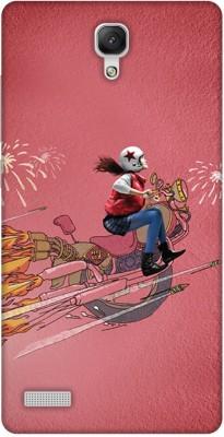 Print Haat Back Cover for Mi Redmi Note 4G Multicolor