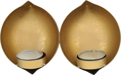 Carnival 2 Diya Set Brass Hanging Diya Set(Height: 2 inch, Pack of 2)  available at flipkart for Rs.359