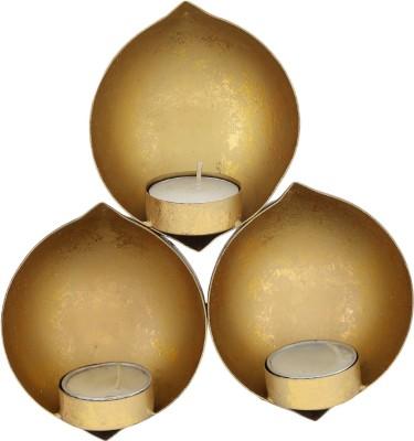 Carnival 3 Diya Set Brass Hanging Diya Set(Height: 2 inch, Pack of 3)  available at flipkart for Rs.647
