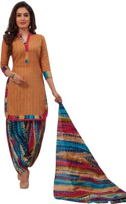 Nikshi Cotton Printed Salwar Suit Dupatta Material(Un-stitched)