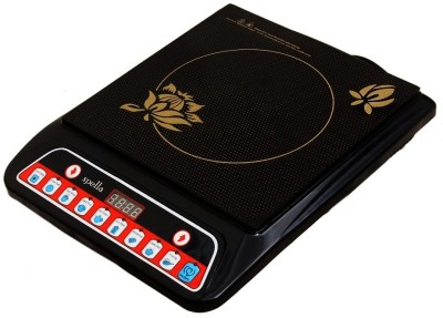 Spella TH10 Induction Cooktop(Black, Push Button)