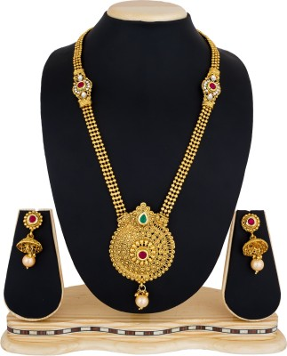 Luxor Alloy Jewel Set(Multicolor) at flipkart