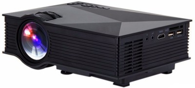 Smart Products Unic UC46, WIFI 1200 lm LED Corded Portable Projector(Black)