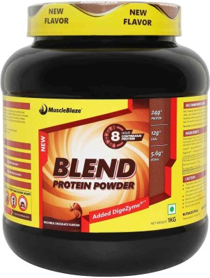 MuscleBlaze Blend Protein Powder Protein Blends(1 kg, Chocolate)