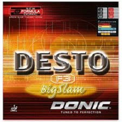 Donic DESTO F3 BIG SLAM 11.3 mm Table Tennis Rubber(Red)