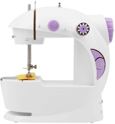 Bluebells India Bluebells India Stylish 4 in 1 Mini Electric Sewing  Silai  Machine with Foot Pedal   Adapter, Portable   Compact Machine Electric Sew available at Flipkart for Rs.1395