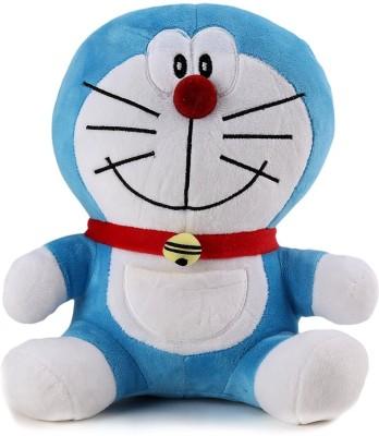 MJ Quality Doraemon teddy, Blue/White  10 inch    10 inch Blue MJ Quality Soft Toys