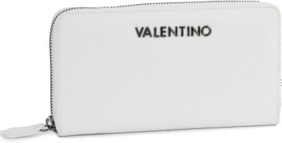 MARIO VALENTINO Casual White Genuine Leather Wallet(12 Card Slots) at flipkart