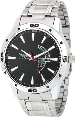 VIKINGS GENTS VK-GR101-BLK-CHN Watch  - For Men   Watches  (VIKINGS)
