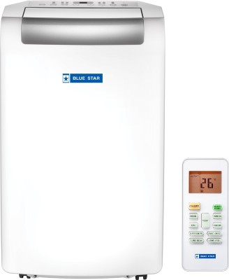 Blue Star 1 Ton Portable AC  - White(BS-HPAC12DA, Copper Condenser)   Air Conditioner  (Blue Star)
