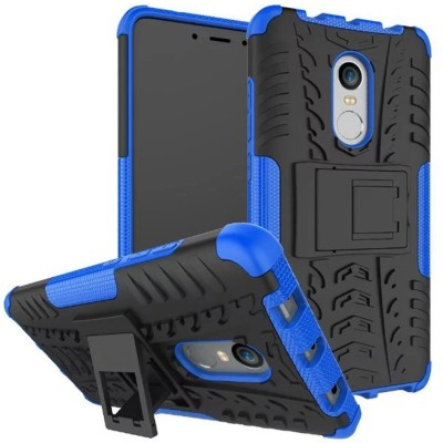 Flipkart SmartBuy Back Cover for Mi Redmi Note 4(Blue, Black, Shock Proof)
