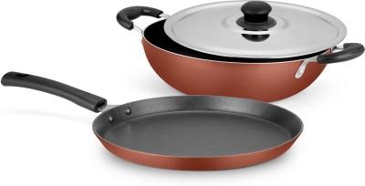 Ideale Cookware Set(Aluminium, 3 - Piece) at flipkart
