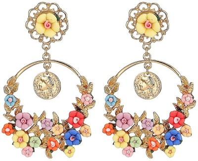 You Bella Fancy Party Wear Jewellery Alloy Dangle Earring at flipkart