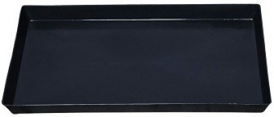 surety for safety Battery Tray Black Trolley for inverter and Battery(Black)  available at flipkart for Rs.299