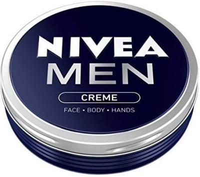 Nivea Men Creme Face Body Hand Cream 2 X In Metal Tin(75 ml)
