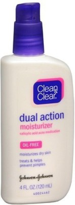 Clean & Clear Oil-free Dual Action Moisturizer - 120ml
