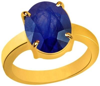 AJ Copper Sapphire Copper Plated Ring at flipkart