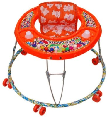 Taaza Garam Musical Activity Walker With Parent Rod(Orange)  available at flipkart for Rs.489