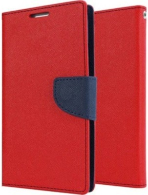 Stunning Flip Cover for Motorola Moto E3 Power(Red, Blue, Artificial Leather)