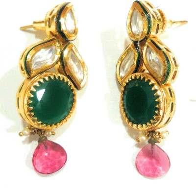 AMARA JEWELLERS DESIGNER COLLECTION Alloy Drop Earring at flipkart