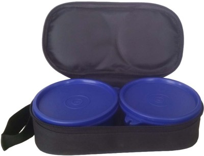 KIDOZ KINGDOM TWINS lunch box BLUE 2 Containers Lunch Box(750 ml) at flipkart